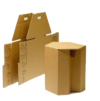 Meet Green Nachhaltige Hocker aus recyelter Pappe - Papphocker Möbel
