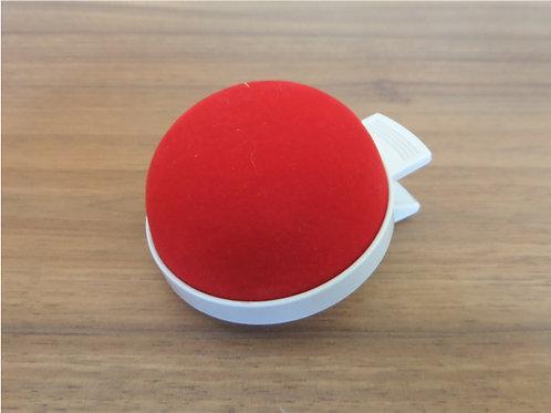 Nadelkissen mit Clip | Rot