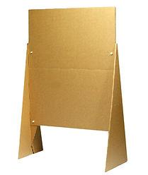 Pinnwand aus Pappe nachhaltig und umweltfreundlich