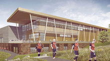 UoW Sports Hub metalwork package secured