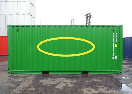 contenedor con materiales de membranas