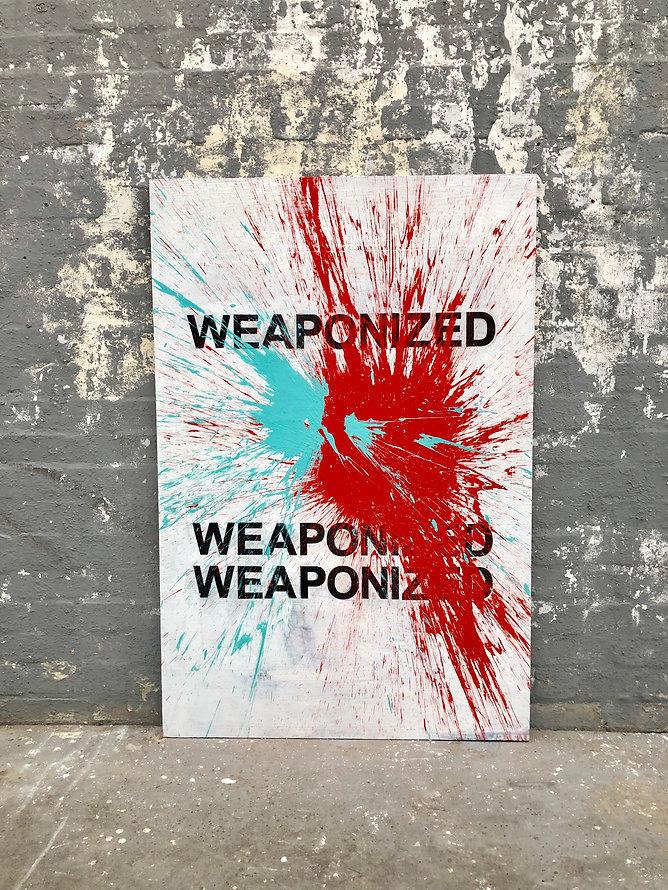 text art paintbomb colin barnes headlines