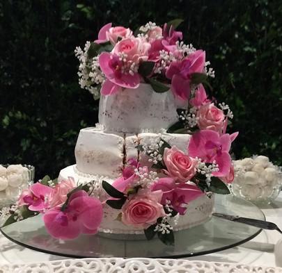 Decoração de Bolo de Cerimônia Matrimoni