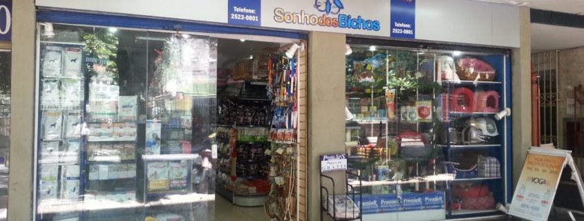 Sonho dos Bichos pet shop shopping Uptow