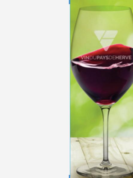 6 verres avec notre logo