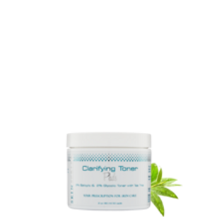 Clarifying Toner Pads, with 2% Salicylic & 2% Glycolic & Tea Tree