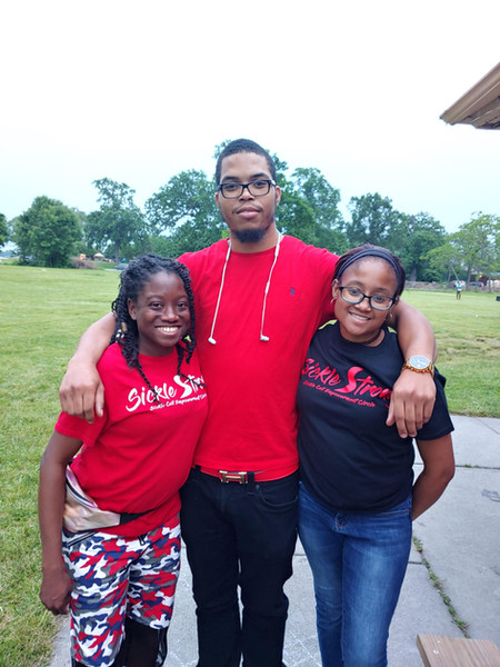Versetta (VP) Dre and Dominique (Sickle Strong Members)