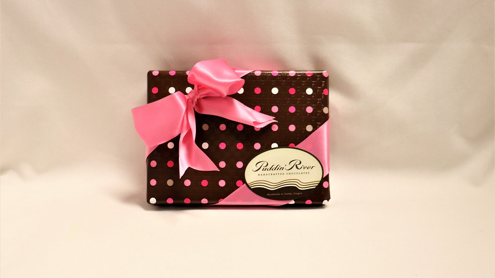 Gift Wrapped Assorted Chocolates - 12 piece