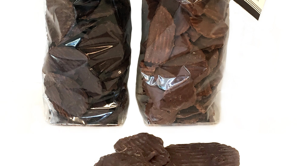 Chocolate Covered Potato Chips - 8oz