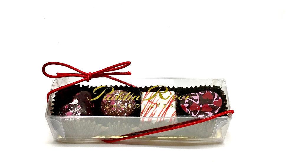Valentine Truffles - 4pc