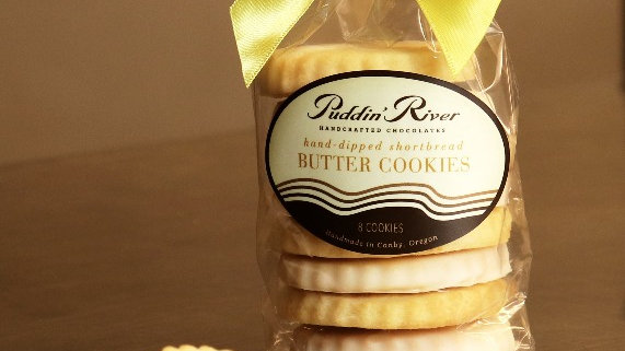 Lemon Shortbread Butter Cookies