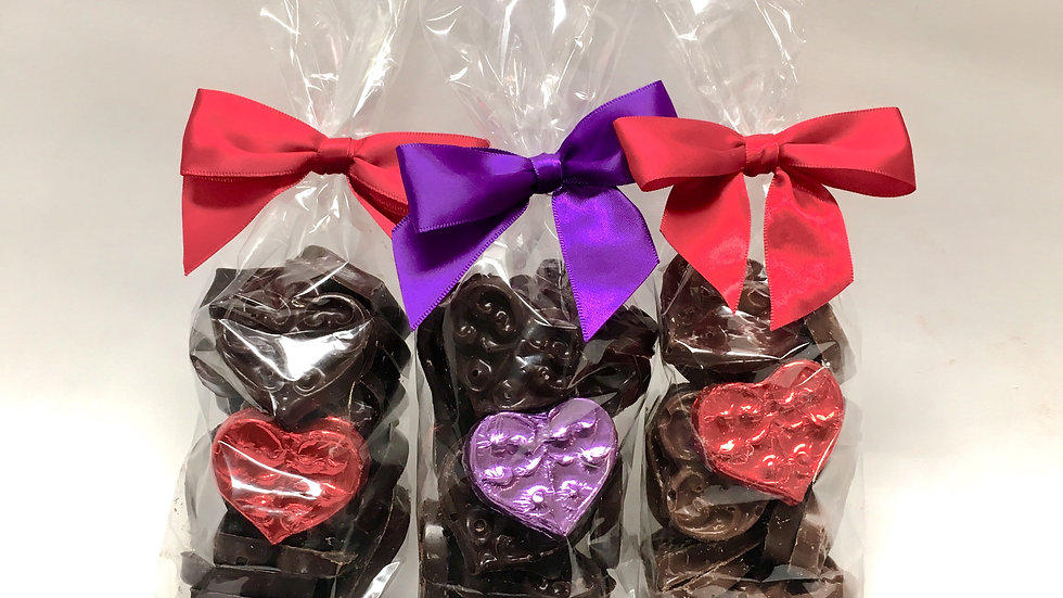 Decorative Chocolate Hearts