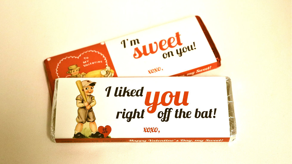 Valentine's Chocolate Bar