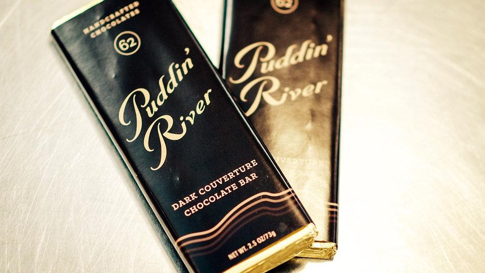 Puddin' River Chocolate Bar - 2.5oz Dark Chocolate