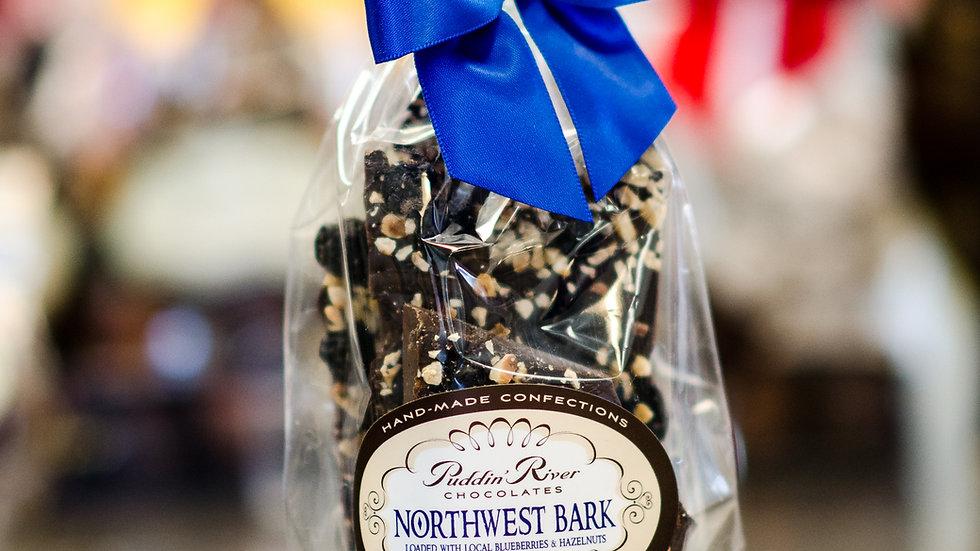 Chocolate Bark - 8oz Northwest Blueberry