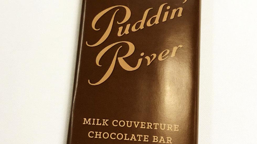 Puddin' River Chocolate Bar - 2.5oz Milk Chocolate