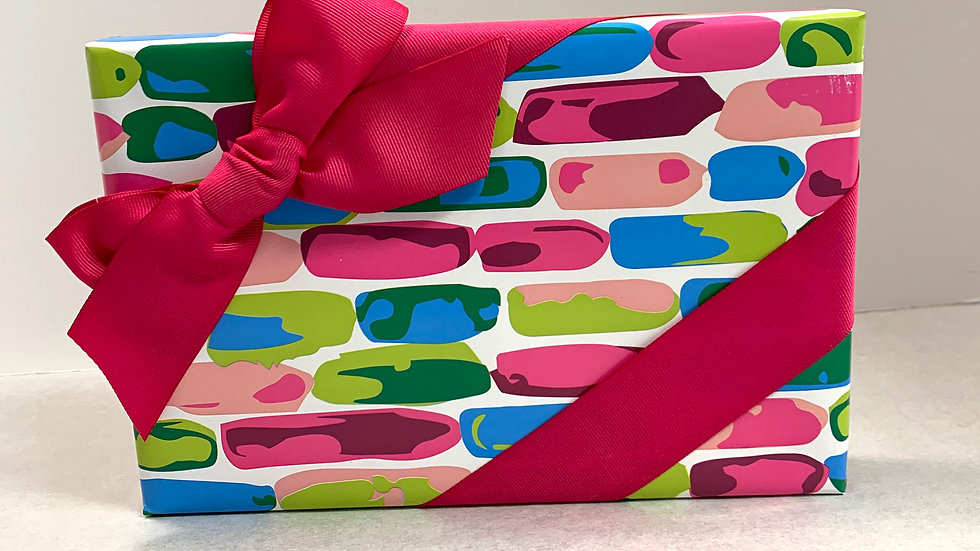 Gift Wrapped Assorted Chocolates - 24 piece
