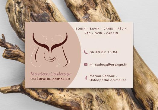 Marion Cadoux - Ostéopathe Animalier