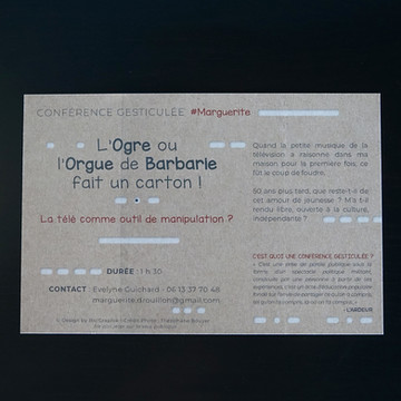 Evelyne Guichard- Conférence Gesticulée