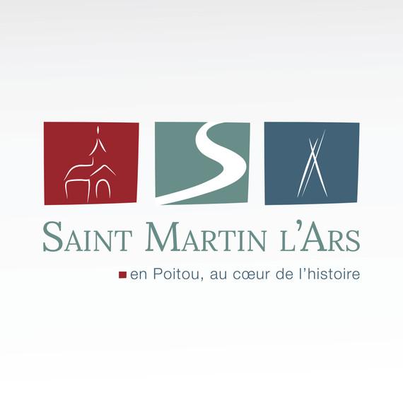 Mairie Saint Martin l'Ars - logo