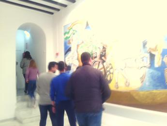 Visita al Museo de Arte Contemporáneo José María Moreno Galván.