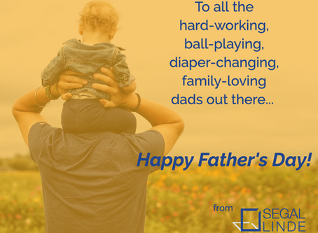Happy Father's Day from our Families to Yours