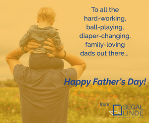 Segal Linde Happy Father's Day 2019