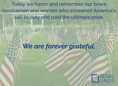 We Remember. We are Grateful.