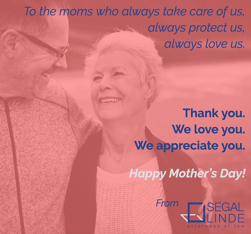Segal Linde Elder Law Medicaid Planning Happy Mothers Day