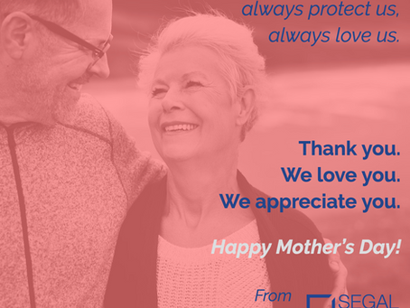 Happy Mother's Day from our families to yours!