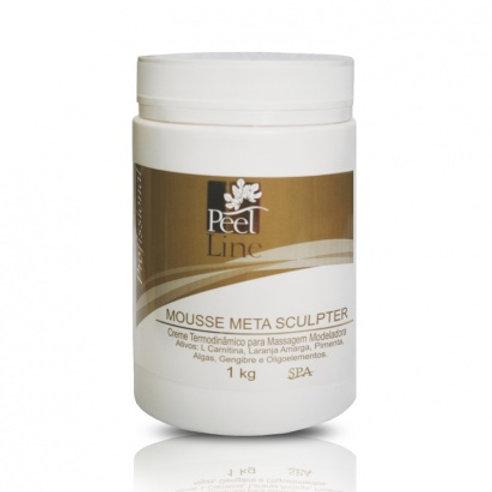 Metasculpter Mousse Liporredutor - 1kg