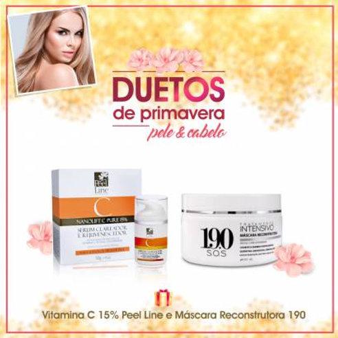Duetos de Primavera - Nanolift C-Pure 15% Vitamina C Nanotecnológica - 50g e Más