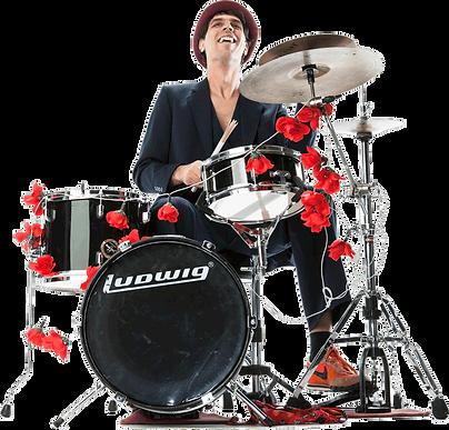 Martin Stadelmann, Drums, Le Virage Dangereux, Strassenband, Buskers, Partyband, Kleinkunst, Feste, Quartierfeste, Jade