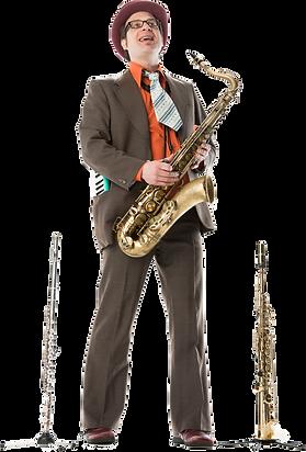 Le Virage Dangereux, Klaus Widmer, Saxofon