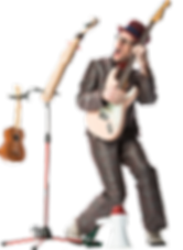 Markus Wahl, Gitarre, Le Virage Dangereux, Strassenband, Buskers, Partyband, Kleinkunst, Feste, Quartierfeste Leadgesang, Gitarre, Ukulele, Kazoo, Triangel, Klostöpsel