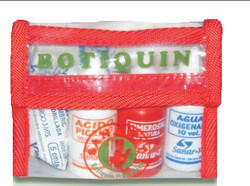 Botiquin primeros auxilios en bolsa