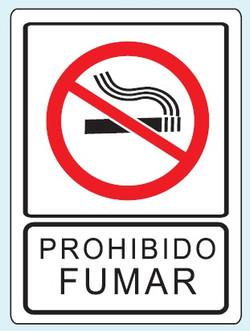 No fumar R-01 25x35 y 35x50