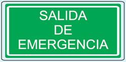 Salida de emergencia C-23 20 X 40
