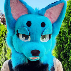 Neon the Wolf