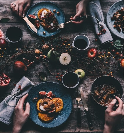 Mindfully Eating A Meal