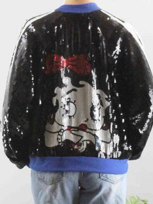 Betty Boop Sequin Jacket