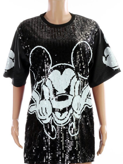 Mickey Mouse Sequins Tunic