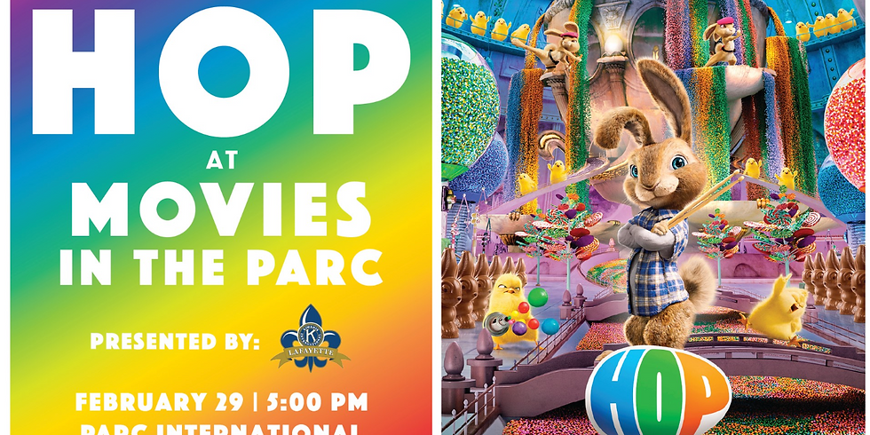 HOP at Movies in the Parc