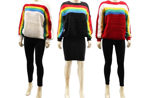 Jenny Multicolored Sweater