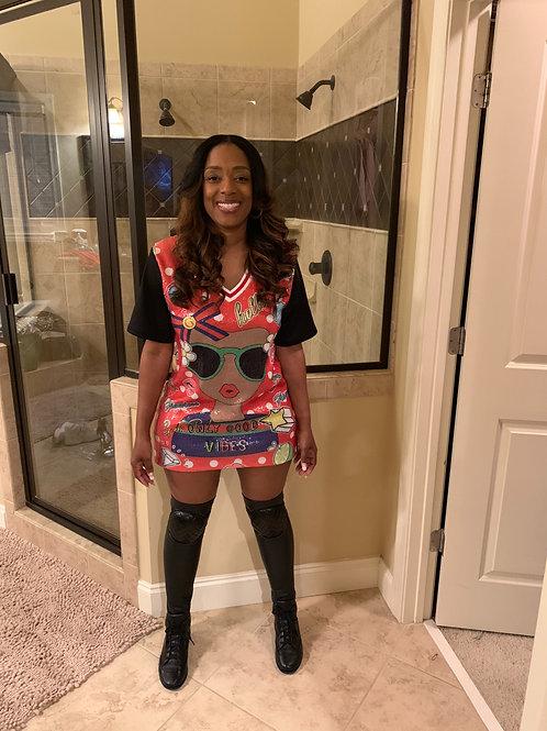 Hello Sequin Shirt/Dress