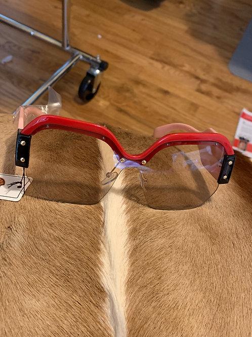 Red rim Glasses
