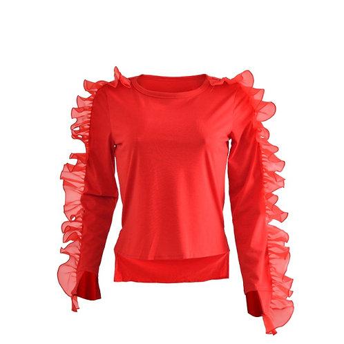 Vanessa Ruffle Shirt