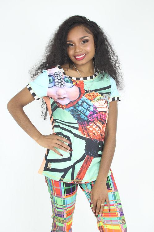 Fanimaly Colorful Shirt