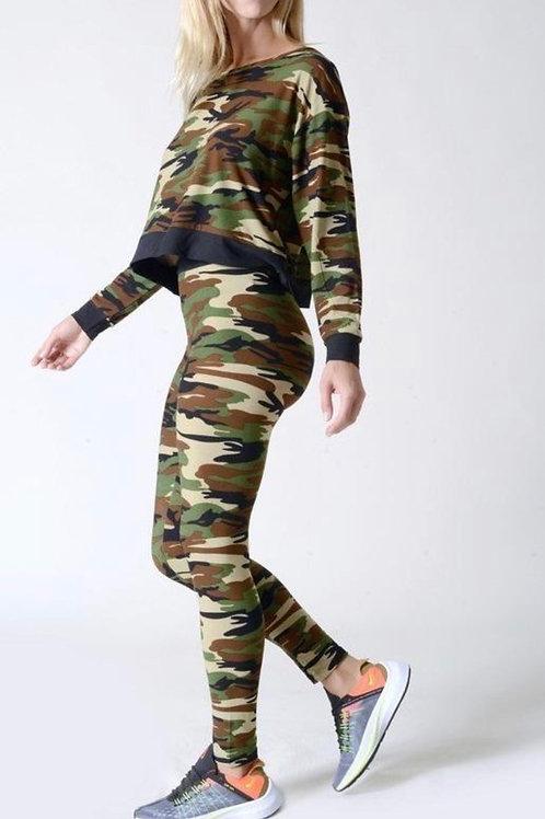 Camo 2pc Jogger Set