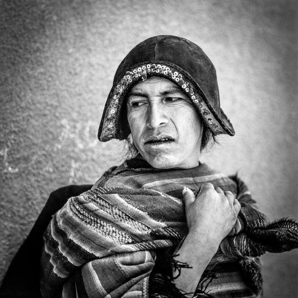 Mann aus Tarabuco